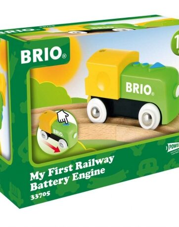 Zdjęcie BRIO 33705 Mój Pierwszy Pociąg Lokomotywka na baterie - producenta RAVENSBURGER