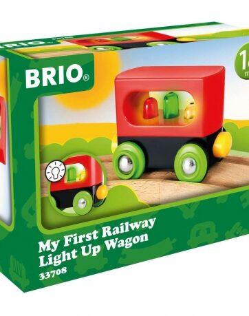 Zdjęcie BRIO 33708 Mój Pierwszy Pociąg Wagon podświetlany - producenta RAVENSBURGER