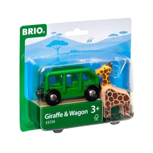Zdjęcie BRIO 33724 Żyrafa i wagon - producenta RAVENSBURGER