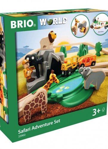 Zdjęcie BRIO 33960 Drewniany pociąg i zwierzęta Safari - producenta RAVENSBURGER