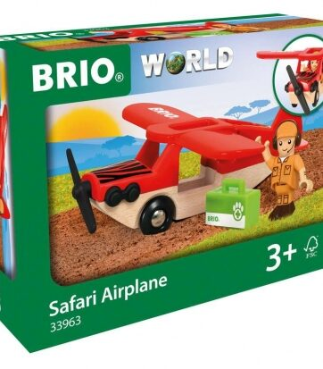 Zdjęcie BRIO 33963 Drewniany Samolot Safari - producenta RAVENSBURGER