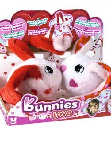 Zdjęcie BUNNIES Love - Pluszowy króliczek z magnesem - producenta TM TOYS