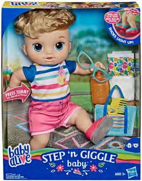 Zdjęcie Baby Alive Step n Giggle - lalka chłopiec - Hasbro - producenta HASBRO