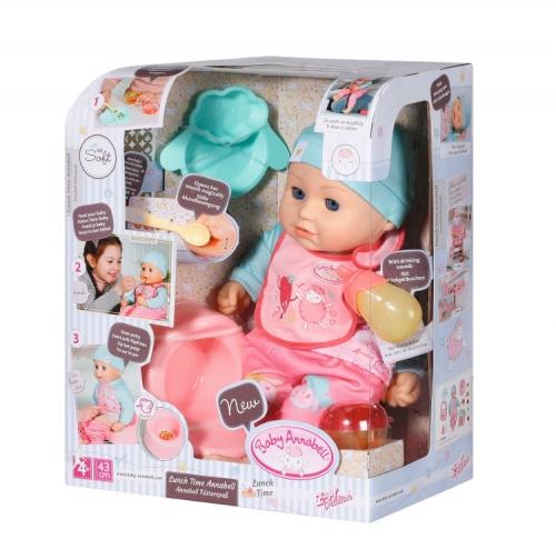 Zdjęcie Baby Annabell® Lalka 43cm zestaw z jedzeniem - producenta ZAPF CREATION