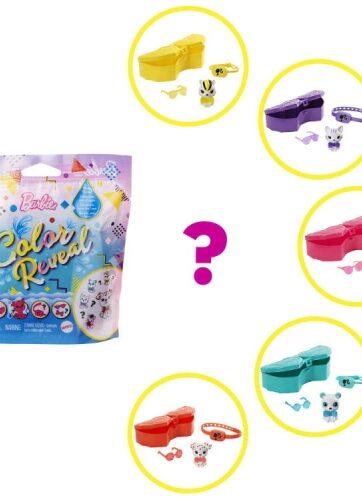 Zdjęcie Barbie Color Reveal Monochrom Zwierzątko GTT11 MATTEL - producenta MATTEL
