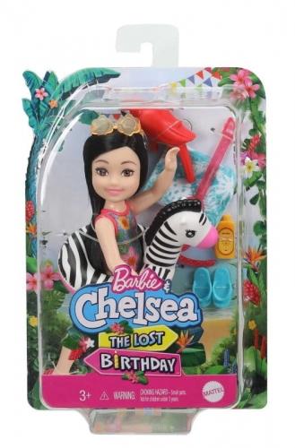 Zdjęcie Barbie Dreamhouse Adventures Chelsea Wakacyjna lalka z akcesoriami - producenta MATTEL