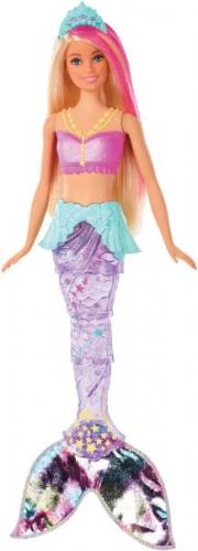 Zdjęcie Barbie Dreamtopia - Magiczna Syrenka z falującym i świecącym ogonem - producenta MATTEL
