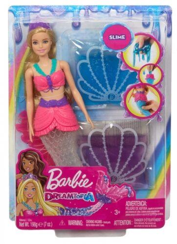 Zdjęcie Barbie Dreamtopia - Syrena brokatowy slime - producenta MATTEL