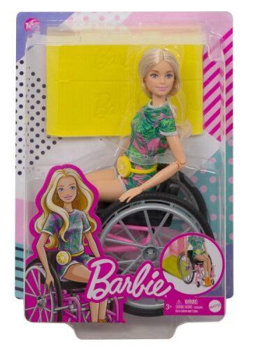 Zdjęcie Barbie Fashionistas Lalka na wózku - producenta MATTEL