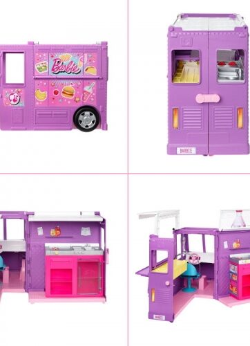 Zdjęcie Barbie Foodtruck zestaw + lalka - producenta MATTEL