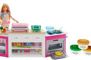 Zdjęcie Barbie - Idealna kuchnia zestaw z lalką - producenta MATTEL
