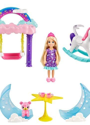 Zdjęcie Barbie Lalka Chelsea Dreamtopia Zestaw księżniczka - producenta MATTEL