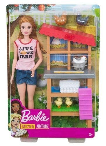 Zdjęcie Barbie Lalka Farmerka z kurnikiem - producenta MATTEL