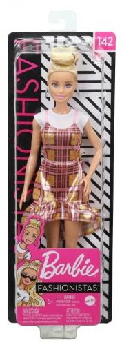 Zdjęcie Barbie Lalka Fashionistas w błyszczącej sukience - producenta MATTEL