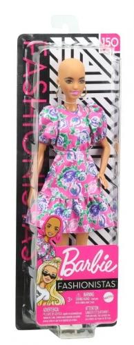 Zdjęcie Barbie Lalka Fashionistas w różowej sukience - producenta MATTEL