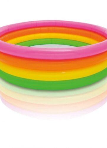 Zdjęcie Basen dmuchany dla dzieci kolorowy - INTEX - producenta INTEX