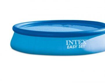Zdjęcie Basen rozporowy EASY SET 396x84cm (pompa filtrująca 220-240V) - Intex - producenta INTEX