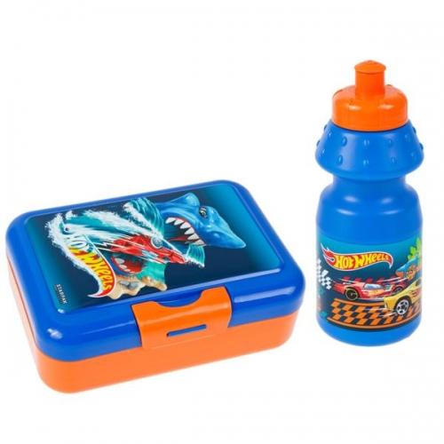 Zdjęcie Bidon + pudełko śniadaniowe Hot Wheels - producenta STARPAK