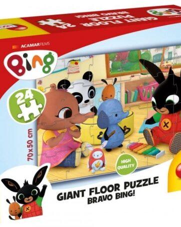Zdjęcie Bing Ogromne puzzle podłogowe 3 75805 LISCIANI - producenta LISCIANI GIOCHI