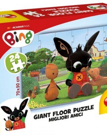 Zdjęcie Bing Ogromne puzzle podłogowe 4 75812 LISCIANI - producenta LISCIANI GIOCHI