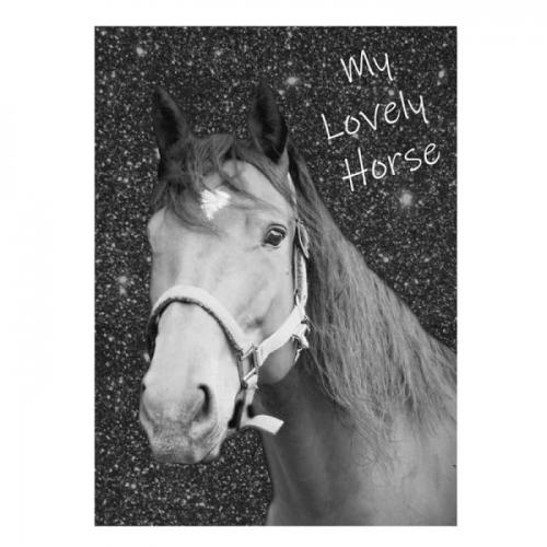 Zdjęcie Błyszczący pamiętnik A6 Konie - producenta PASO
