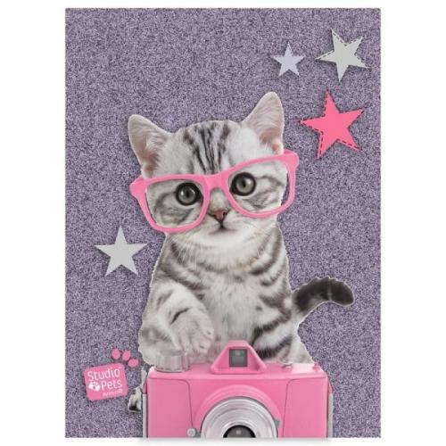 Zdjęcie Błyszczący pamiętnik A6 Studio Pets - producenta PASO