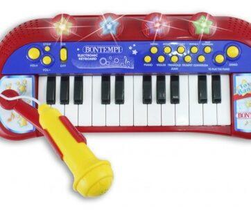 Zdjęcie Bontempi Keyboard elektroniczny ze stołeczkiem 24 klawisze - producenta DANTE
