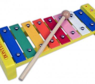 Zdjęcie Bontempi Ksylofon cymbałki z 8 kolorowymi płytkami - producenta DANTE