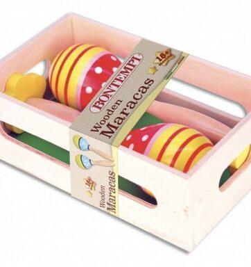 Zdjęcie Bontempi Play Drewniane marakasy w skrzynce - producenta DANTE