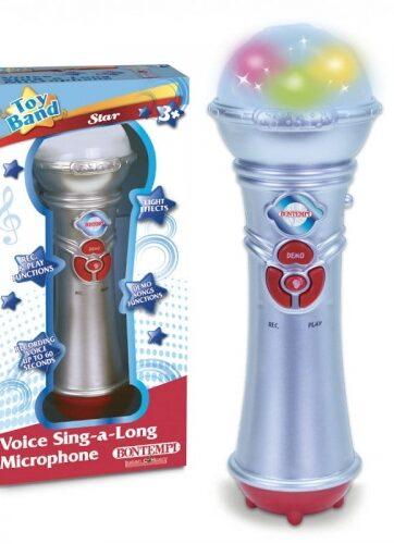 Zdjęcie Bontempi Star Mikrofon echo z dźwiękami i światłem - producenta DANTE