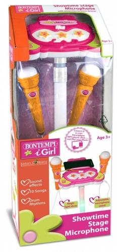 Zdjęcie Bontempi Statyw z dwoma mikrofonami regulowany - producenta DANTE