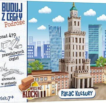 Zdjęcie Brick Trick Buduj z cegły Podróże Pałac Kultury XL - producenta TREFL
