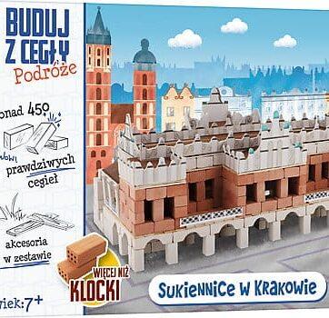 Zdjęcie Brick Trick Buduj z cegły Podróże Sukiennice XL - producenta TREFL
