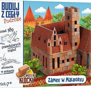 Zdjęcie Brick Trick Buduj z cegły Podróże Zamek w Malborku XL - producenta TREFL