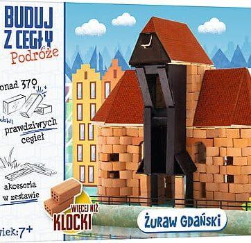 Zdjęcie Brick Trick Buduj z cegły Podróże Żuraw Gdański XL - producenta TREFL