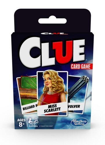 Zdjęcie CLUEDO gra karciana - Hasbro - producenta HASBRO