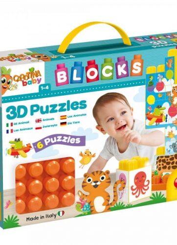 Zdjęcie Carotina Baby - klocki konstrukcyjne z obrazkami - producenta LISCIANI GIOCHI