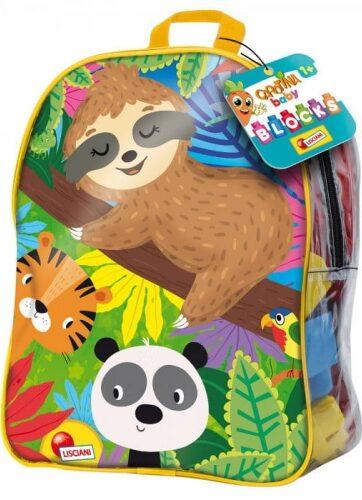 Zdjęcie Carotina Baby - klocki w dużym plecaku - producenta LISCIANI GIOCHI