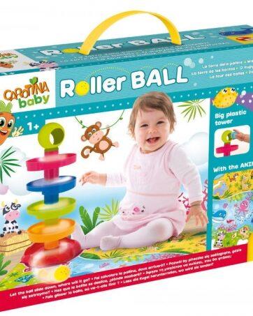 Zdjęcie Carotina Baby - zestaw puzzle i wieża Roller Ball - producenta LISCIANI GIOCHI