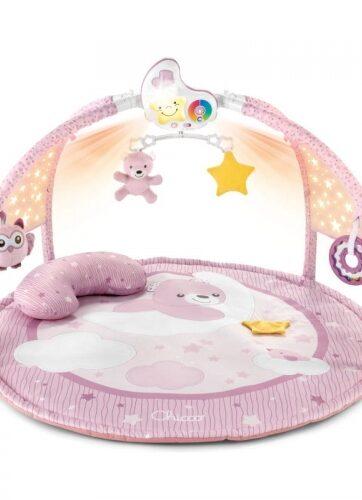 Zdjęcie Chicco Mata dla niemowlaka 3w1 z melodiami i projektorem różowa - producenta CHICCO