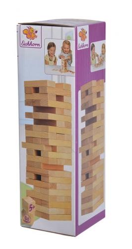 Zdjęcie Chwiejąca się wieża drewniana gra - Eichhorn - producenta EICHHORN