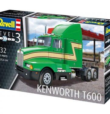 Zdjęcie Ciężarówka model do sklejania 07446 Kenworth T600 1:32 REVELL - producenta REVELL