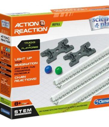 Zdjęcie Clementoni Akcja - Reakcja Tory i platformy - producenta CLEMENTONI