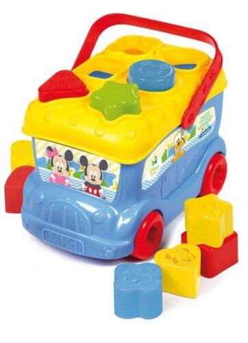 Zdjęcie Clementoni Autobus Baby Miki z klockami do wkładania - producenta CLEMENTONI