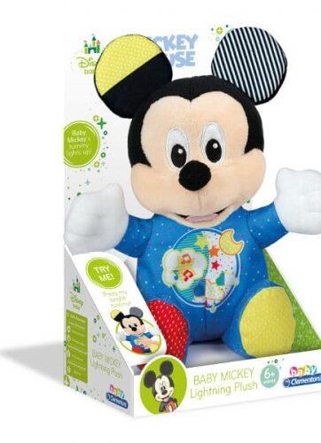 Zdjęcie Clementoni Baby Mickey Świecący pluszak - producenta CLEMENTONI