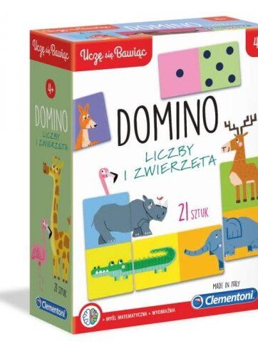 Zdjęcie Clementoni Domino Liczby i zwierzęta - producenta CLEMENTONI