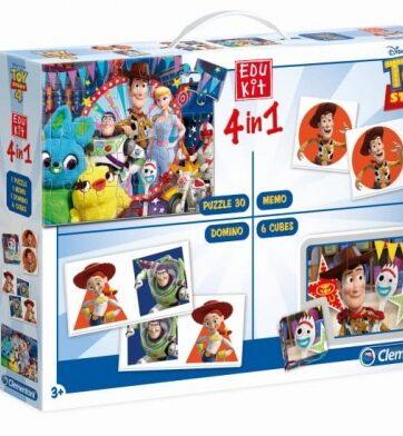 Zdjęcie Clementoni Edukit 4w1 Toy Story 4 - producenta CLEMENTONI