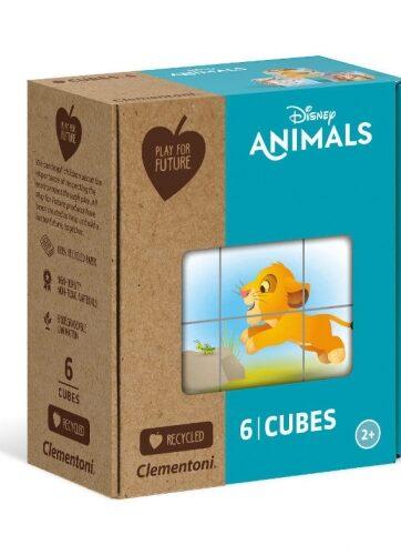 Zdjęcie Clementoni Klocki obrazkowe 6el Zwierzęta Disneya - producenta CLEMENTONI