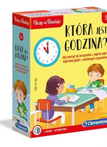 Zdjęcie Clementoni Która jest godzina? - producenta CLEMENTONI