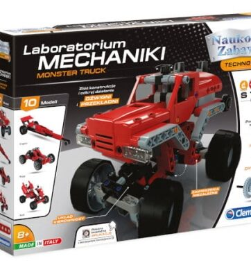 Zdjęcie Clementoni Laboratorium mechaniki Monster Truck - producenta CLEMENTONI